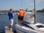 Kolejna grupa żeglarzy już na wodzie